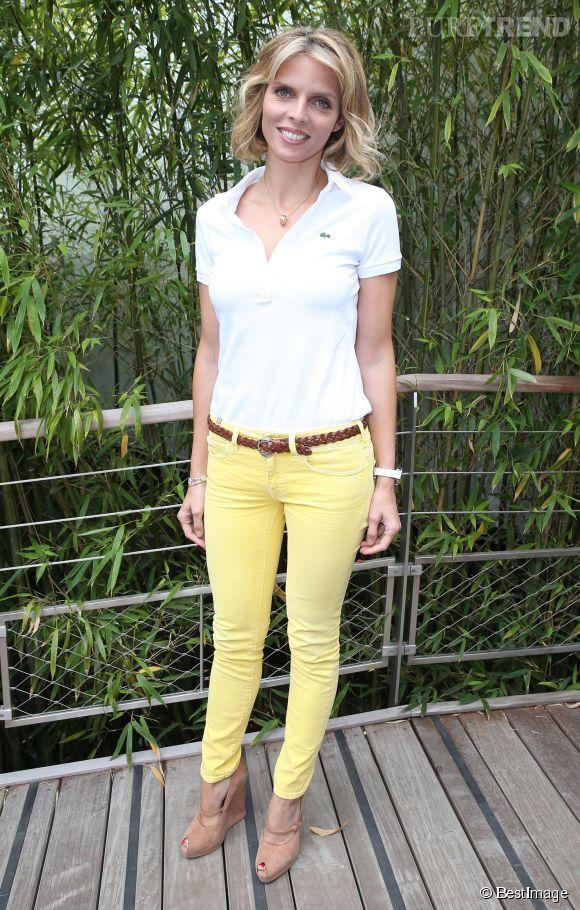 Sylvie Tellier mise elle sur la couleur à Roland Garros.