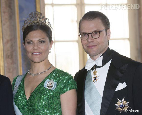 Victoria de Suède était belle et professionnelle, comme à son habitude pour recevoir le dirigeant indien.