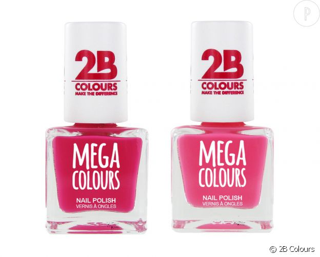 Collection Mega Colours de 2B Colours.