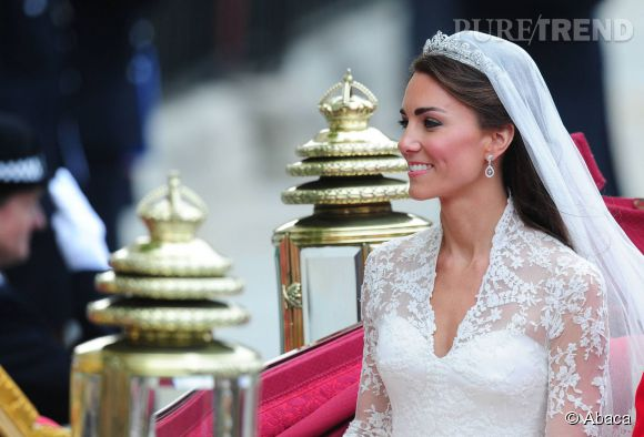 Kate Middleton a laiss\u0026eacute; ses cheveux libres sous