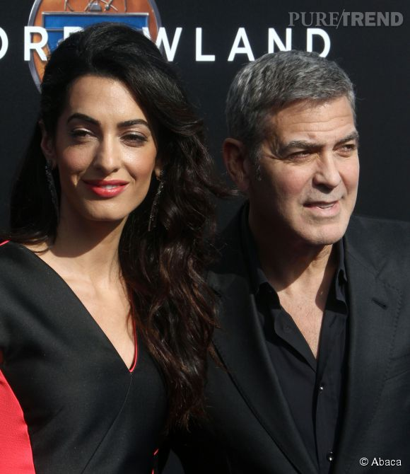 George Clooney a emmené sa femme Amal à Augusta, sa terre natale.
