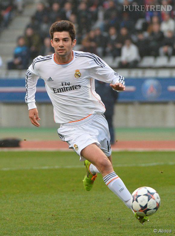 Enzo Zidane, milieu de terrain de l'équipe réserve du Real Madrid.