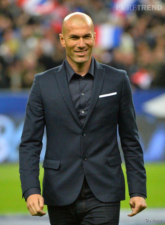 Zidane, ex-entraîneur adjoint au Real Madrid.