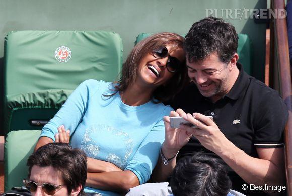 Karine Le Marchand et Stéphane Plaza partagent un peu le même humour. Cela fait d'eux de grands complices.