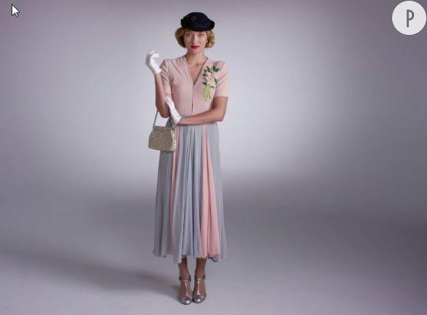 1935, couleurs pastel.