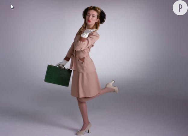 1945, la working girl.
