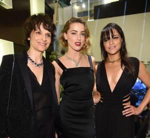 "Juliette Binoche, Amber Heard... célèbrent le ""Giardini italiani"" de Bulgari"