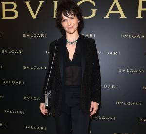 Juliette Binoche à la soirée Bulgari le 7 juillet 2015 à Paris.