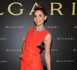 Clotilde Courau à la soirée Bulgari le 7 juillet 2015 à Paris.