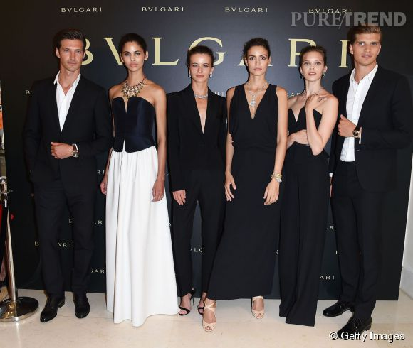 "Bulgari dévoile la collection ""Giardini Italiani"" le 7 juillet 2015 à Paris."