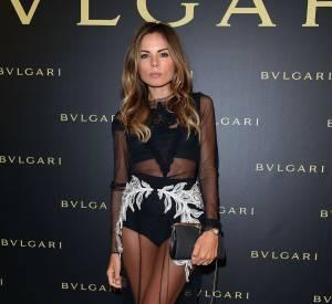 La styliste italienne Erica Pelosini à la soirée Bulgari le 7 juillet 2015 à Paris.