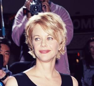 """Meg Ryan lors de la promo de """"La Cité des anges"""" en 1998."""
