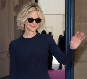 Meg Ryan a fait son retour sur le tapis rouge lors de la semaine de la Haute Couture parisienne.