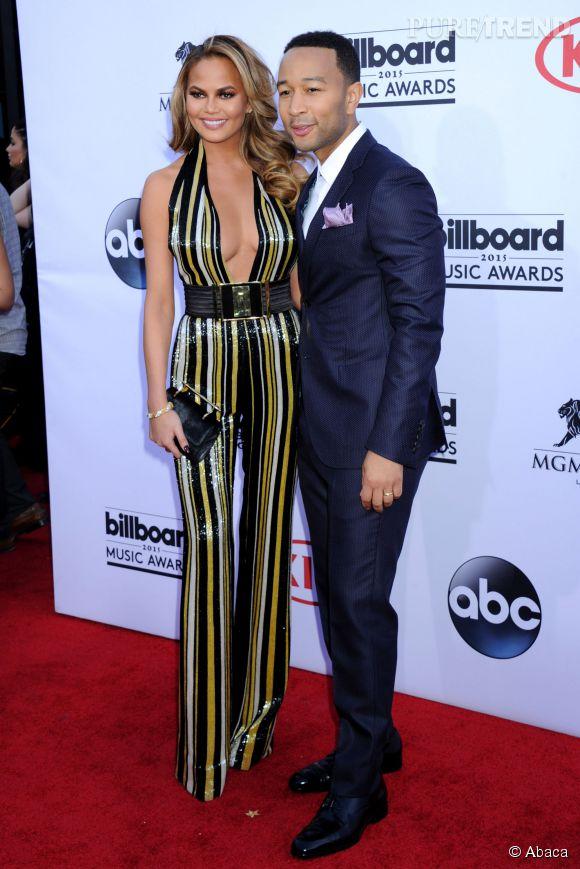 Chrissy Teigen et John Legend, le couple glamour du moment.