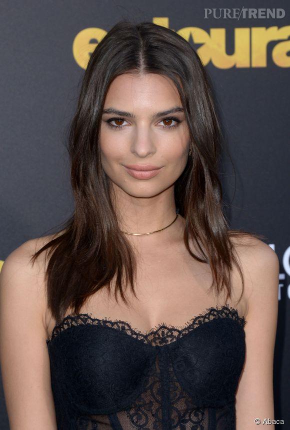 Emily Ratajkowski : même sans maquillage, la brunette est canon.