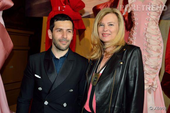 L'ex-compagne de François Hollande est admirative du travail d'Alexis Mabille.