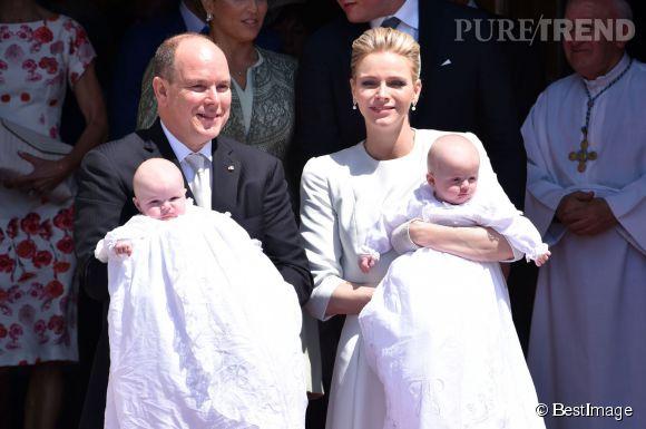 Jacques et Gabriella ont été baptisés en mai dernier, en grandes pompes.