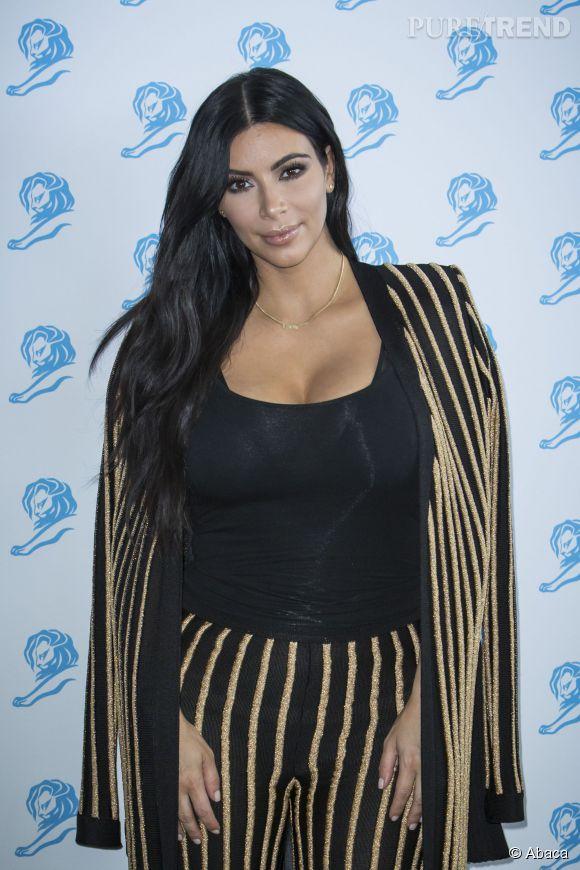 Kim Kardashian est une grande amie d'Olivier Rousteing, le directeur artistique de la marque Balmain.