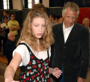 Marie de Villepin a toujours soutenu son père.