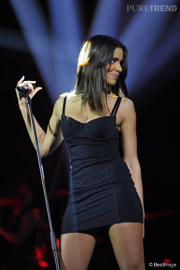 Shy'm : les tenues sexy sur scène, ça la connaît.