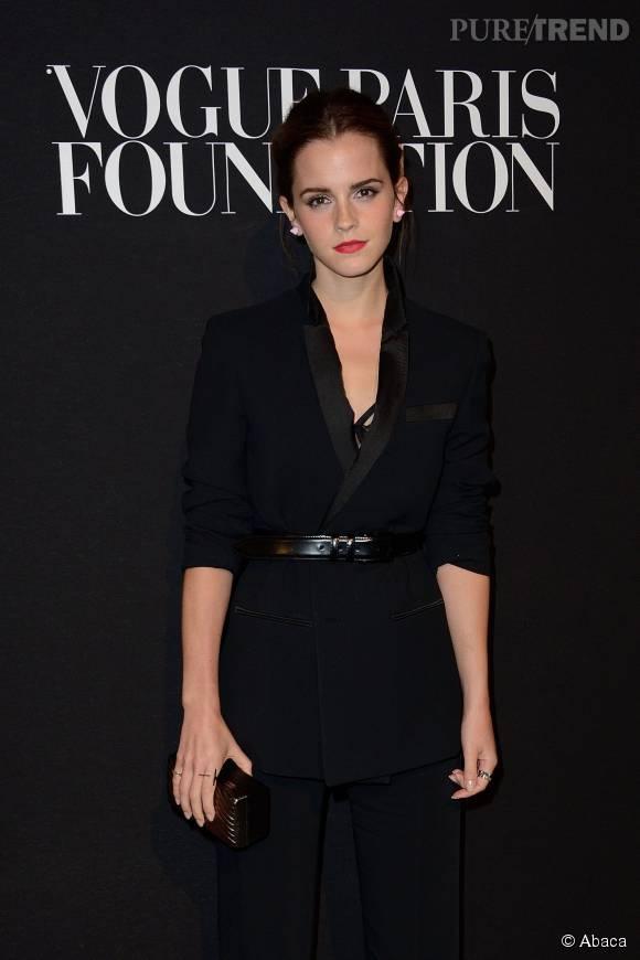 Emma Watson, elle échappe de peu à l'enlèvement.