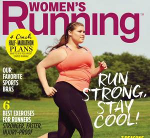 """Women's Running met à l'honneur un mannequin """"grande taille"""" en couverture"""