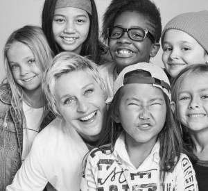 Ellen DeGeneres collabore avec GapKids.