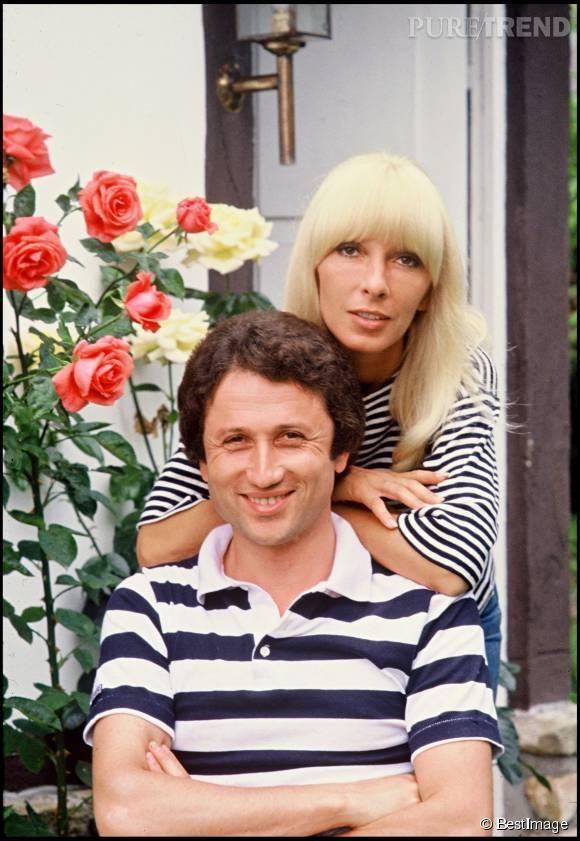 Michel Drucker et Dany Saval se sont mariés en juillet 1975 à Vegas.