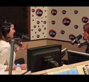 Karine Ferri face à Zaz sur RFM.