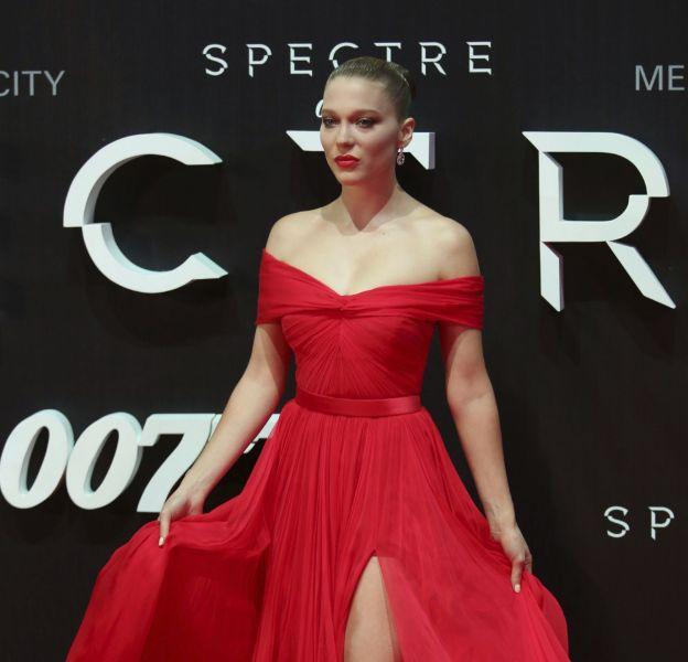 """Léa Seydoux à la première de """"007 Spectre"""" à Mexico City le 1er novembre 2015."""