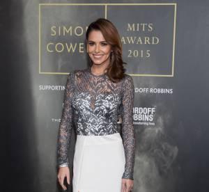 Cheryl Cole : toujours aussi menue, elle fait sensation en robe fendue