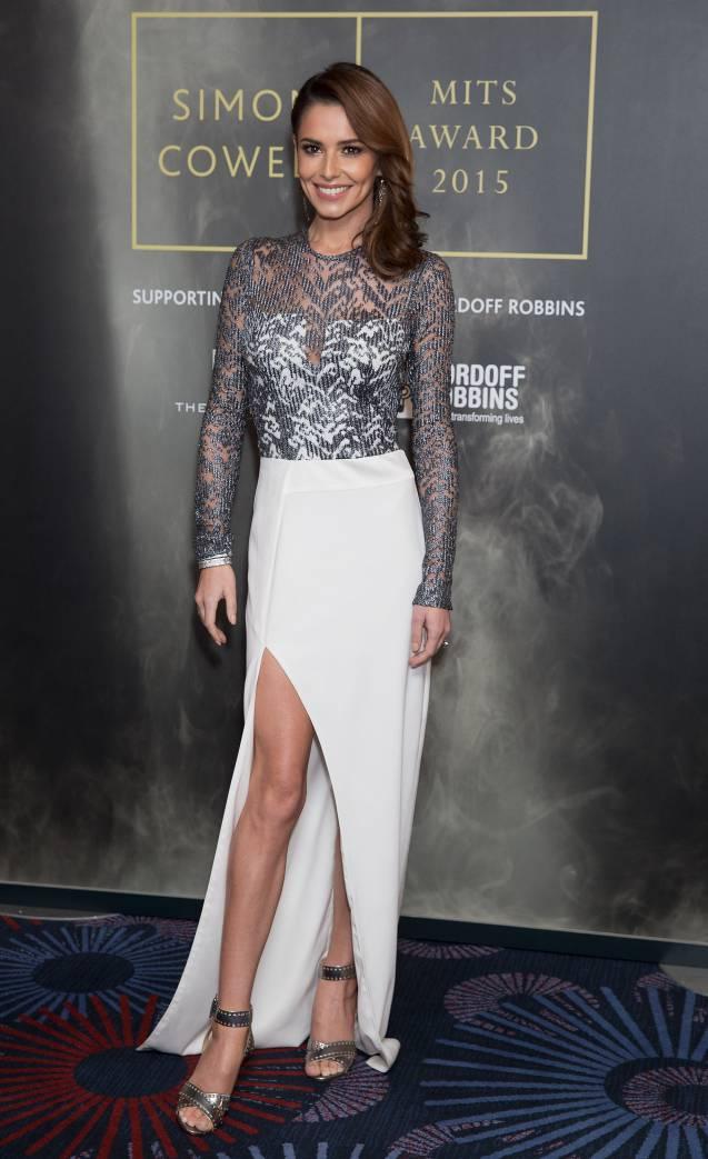 Cheryl Cole a fait sensation lors des Music Industry Awards à Londres, le 2 novembre 2015.