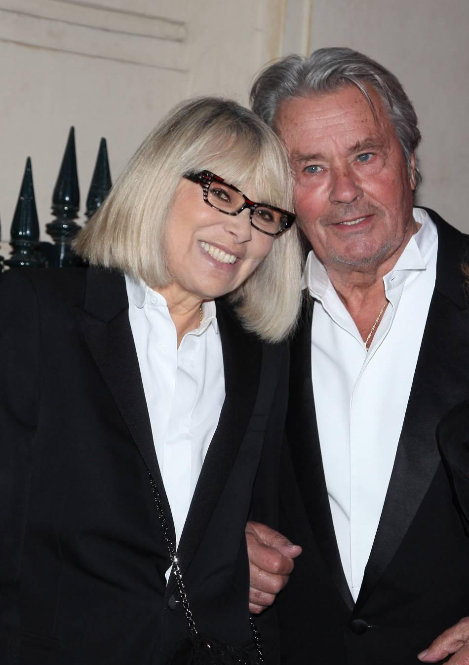 Mireille Darc et Alain Delon, toujours aussi inséparables même après leur rupture amoureuse.