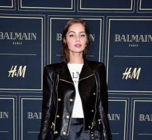 Marie-Ange Casta, Noémie Lenoir... les stars de la soirée Balmain x H&M