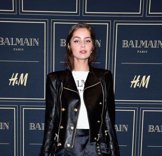 Marie-Ange Casta à la soirée Balmain X H&M à Paris le 3 novembre 2015.
