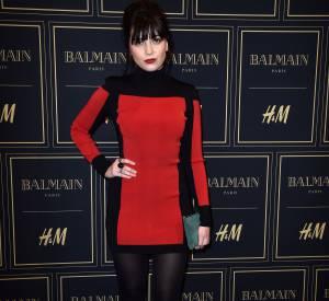 Daisy Lowe à la soirée Balmain X H&M à Paris le 3 novembre 2015.