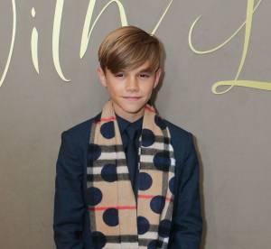 Romeo Beckham : 13 ans et déjà star du tapis rouge pour Burberry