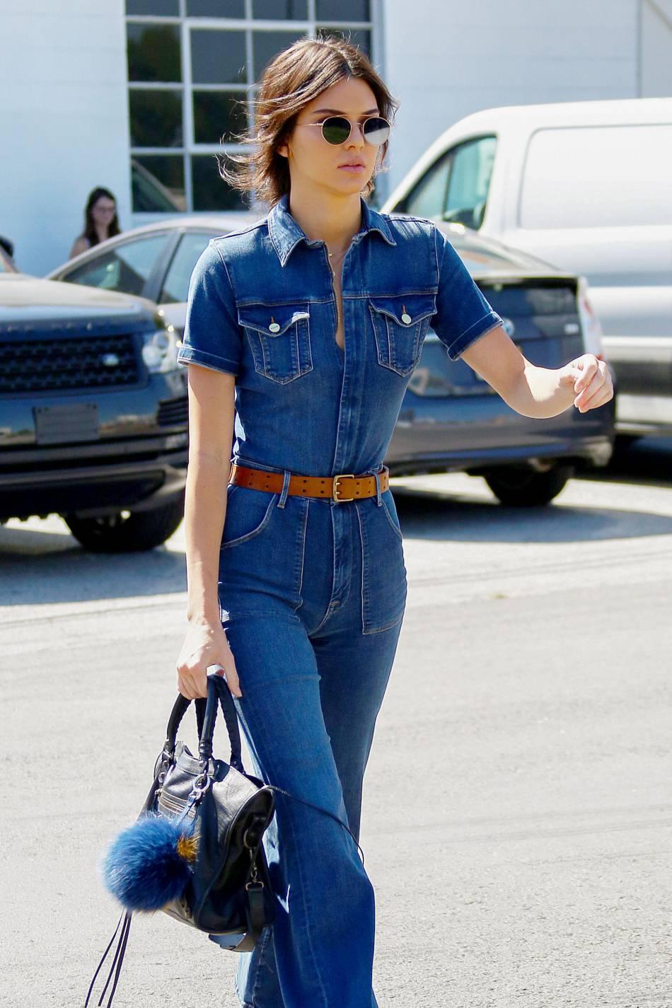 Kendall Jenner est venue à Londres non pas pour la Fashion Week mais pour rencontrer son sosie de cire.