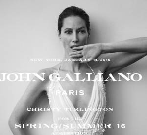 Christy Turlington : la nouvelle égérie de la Maison John Galliano