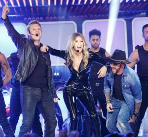 Gigi Hadid : enfin la vidéo complète de son show sexy avec les Backstreet Boys