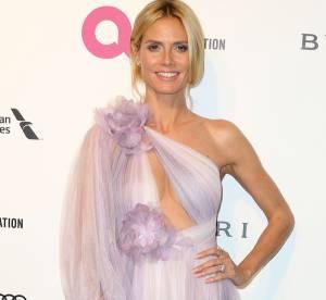 """Heidi Klum, Emily Ratajkowski, Mariah Carey... la soirée """"Oscars"""" d'Elton John"""