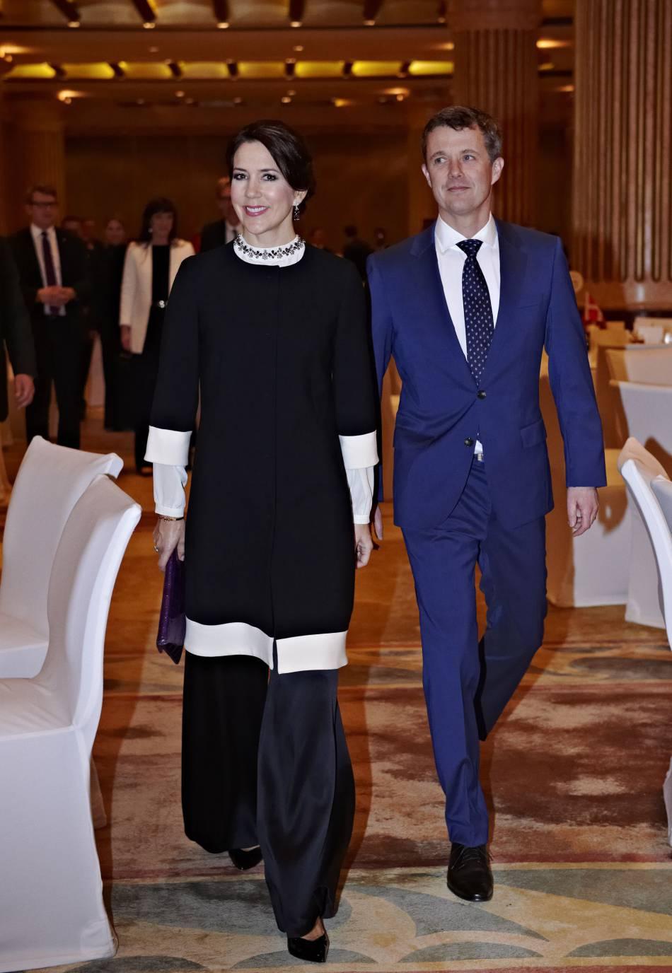 Mary de Danemark et son mari, le couple princier visite l'Arabie Saoudite jusqu'au 3 mars.