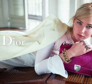 Jennifer Lawrence pour Dior.