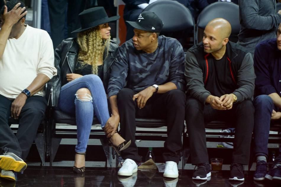 Beyoncé  stylée et très tactile avec Jay,Z malgré les rumeurs de divorce