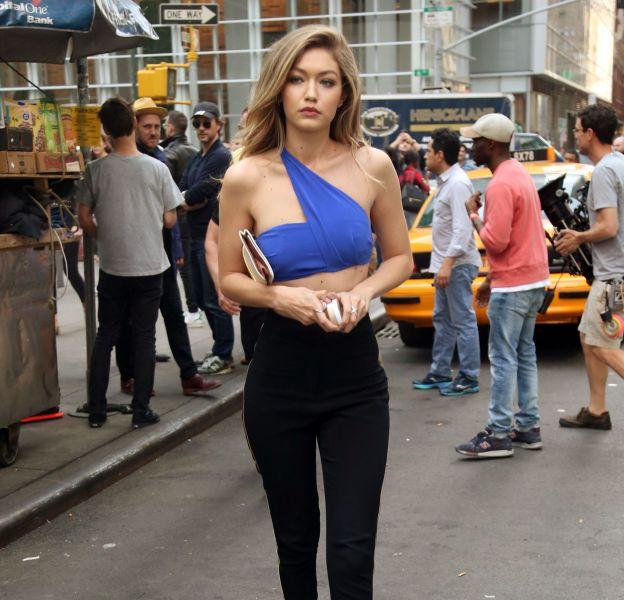 Gigi Hadid à New York ce jeudi 12 mai 2016.