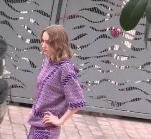 """Le casting du film de Stéphanie Di Giusto, """"La danseuse"""", arrive pour son photocall au Festival de Cannes 2016."""