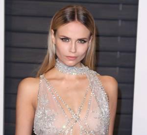"""Natasha Poly à la soirée """"Vanity Fair Oscar Party"""" après la 88ème cérémonie des Oscars à Hollywood, le 28 février 2016."""