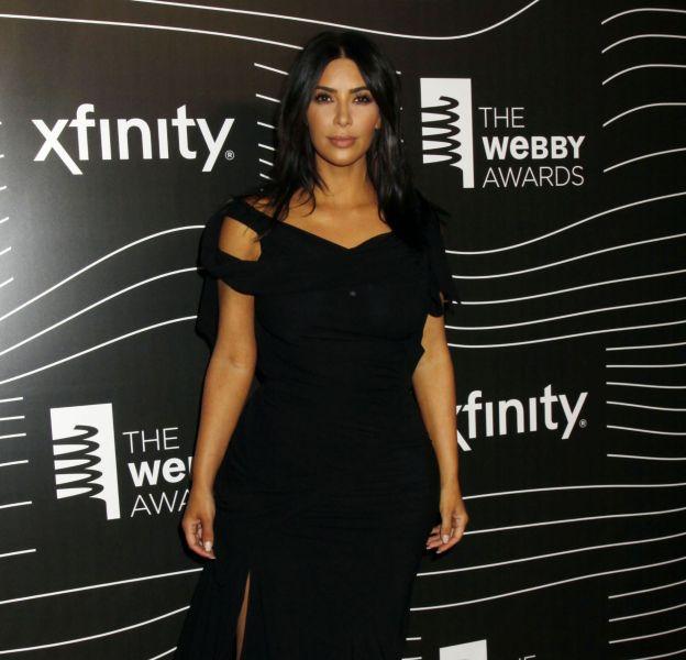 Kim Kardashian à la 20ème soirée annuelle Webby Awards à Cipriani Wall Street.