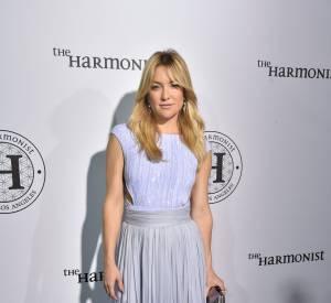 "Kate Hudson (Bijoux Atelier Swarovski), splendide pour la soirée ""The Harmonist""."