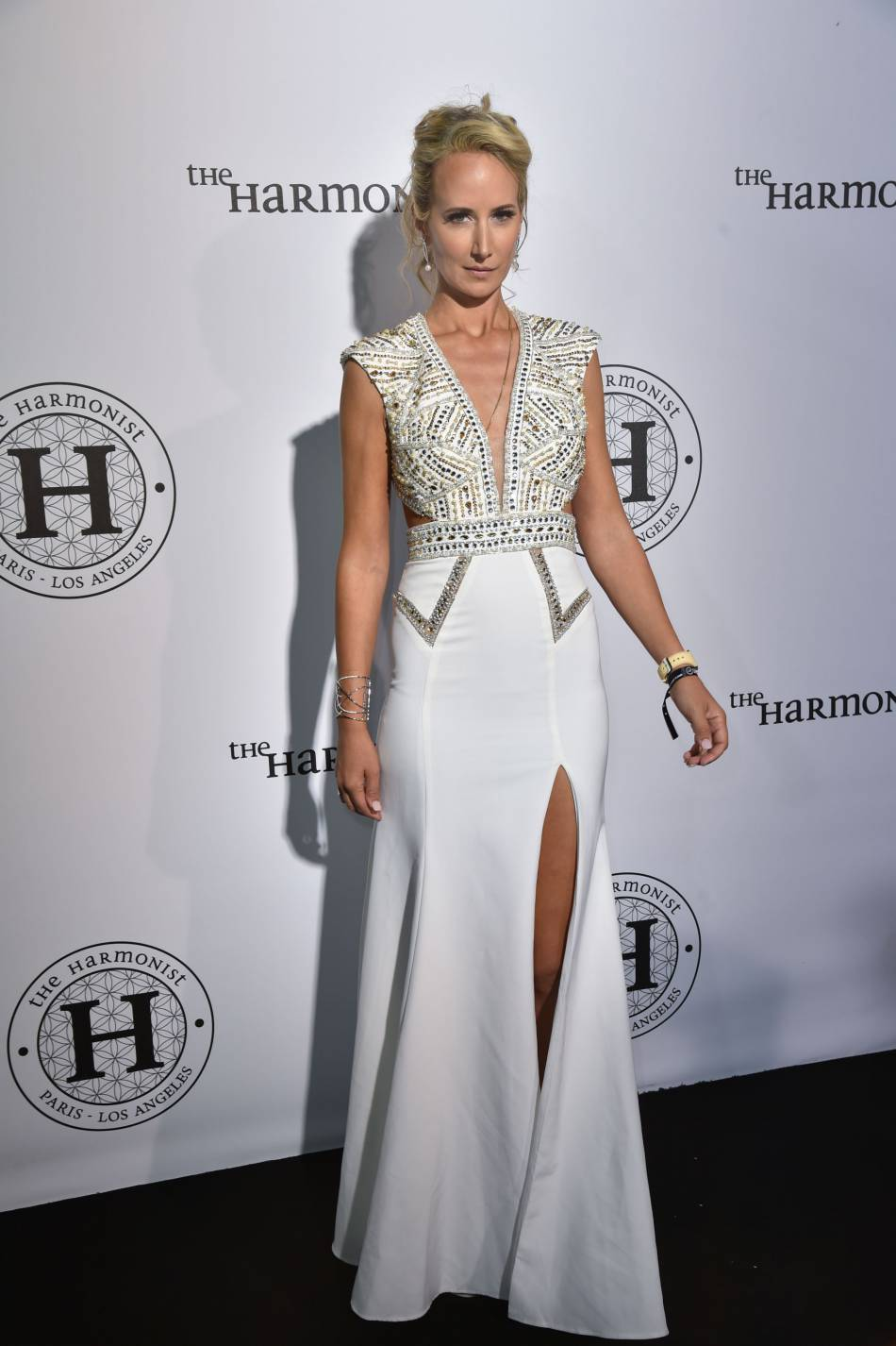 "Lady Victoria Hervey à la soirée ""The Harmonist"" lors du 69ème Festival International du Film de Cannes."